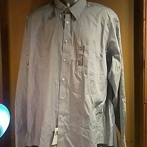 NWT Mens Chaps dress top size 17-17 1/2